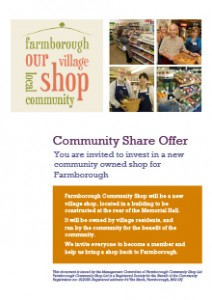 Farmborough Community Share Offer Prospectus