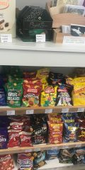 Confectionery and crisps